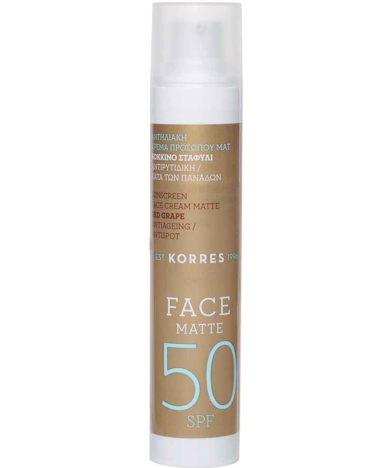Korres Sunscreen Red Grape Antiageing Antispot Spf 50