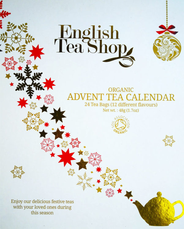 English Tea Shop teejoulukalenteri