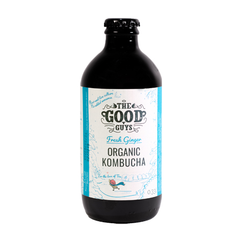 The Good Guys Fresh Ginger kombucha