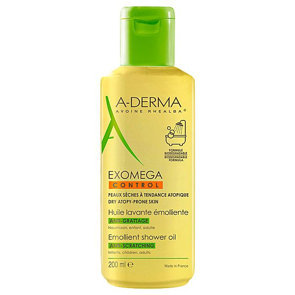A-DERMA Exomegan Control Shower Oil