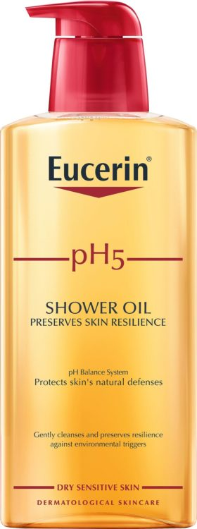 Eucerin pH 5 Shower Oil, hajustettu, 400 ml 15 e