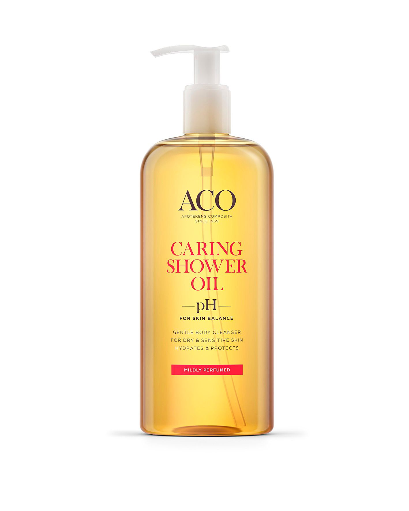 ACO Caring Shower Oil, ­hajustettu, 400 ml 12,20 e